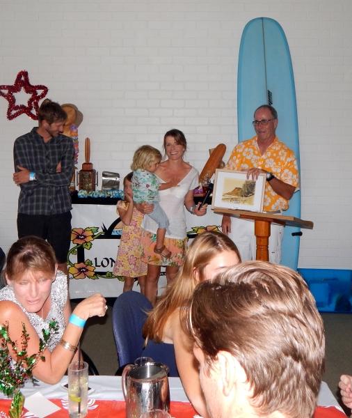 2nd Ladies & winner of the Amos Surf board, Eleanor Robertson