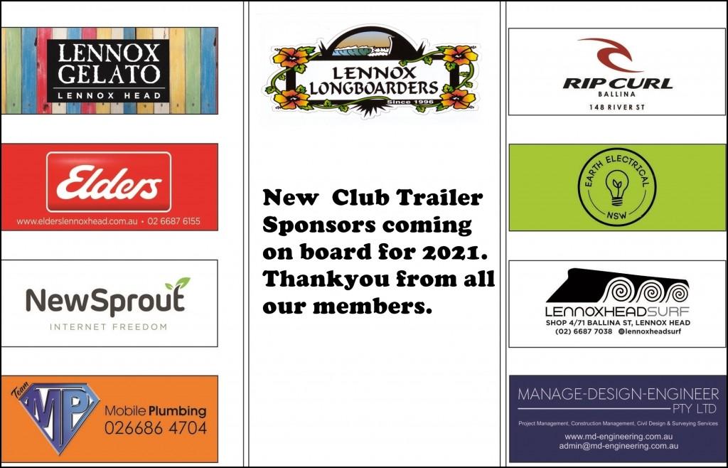 Club Trailer Sponsors