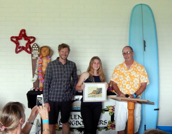 Club Junior award, Annabelle Gover