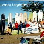 Lennox Longboarders 2001