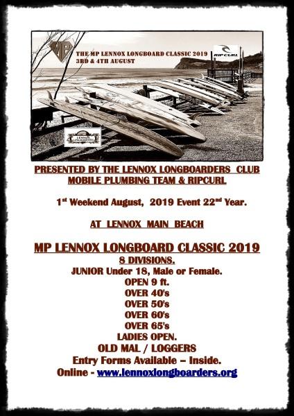 MP LENNOX LONGBOARD CLASSIC 2019 SHOP POSTER 1 (424 x 600)