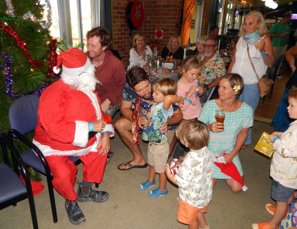 And Of Course Santa & The Lennox Crew