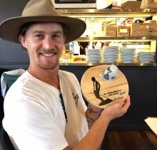 Tom Steele Lennox Team Member 2nd overall Board Meeting Surf Charity @ Lennox 2019